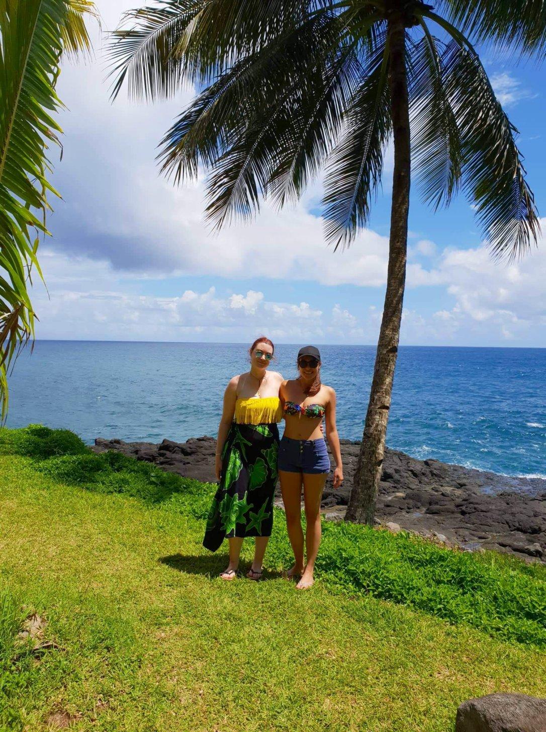 Heiana and I in Tahiti!